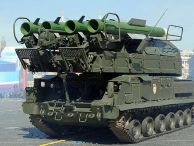 Buk-missile-launcher