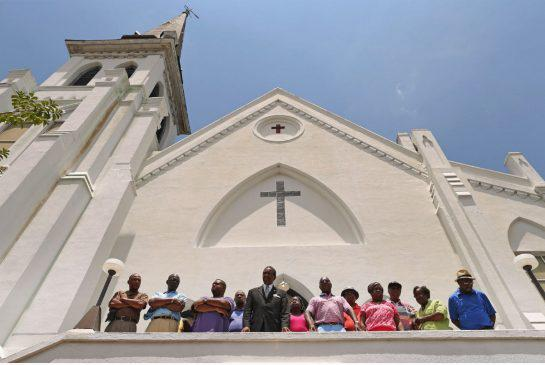 Members of the Emanuel African Methodist Church