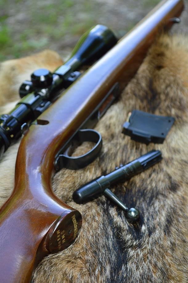 Remington 591M bolt action rifle 5mm Remington Rimfire Magnum