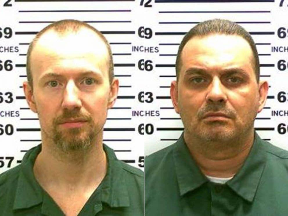 David Sweat (left) and Richard Matt (right) were both serving sentences for murder. (Photo: New York State Police)