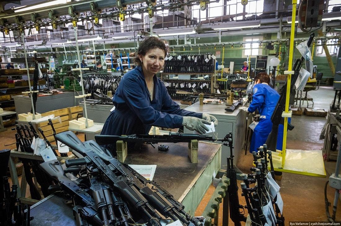 Kalashnikov factory 17