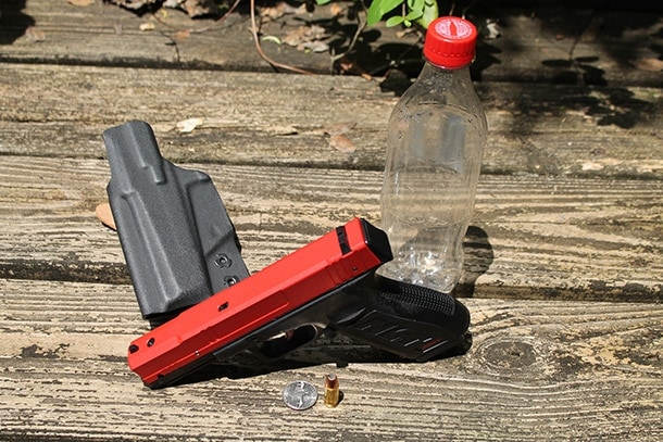 Concealed carry pistol training tools