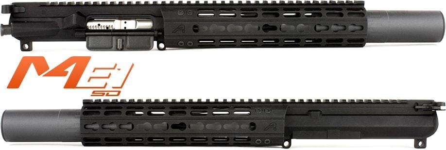 aero precision M4E1-SD dedicated suppressed upper