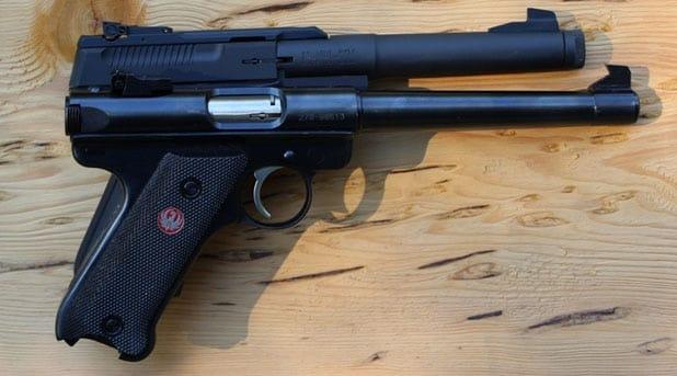 Ruger Mark III rimfire pistol