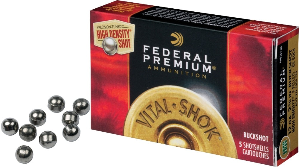 federal premium vital shok high density