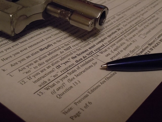 U.S. citizens living overseas without an address stateside have problems with ATF Form 4473 (Photo: Guns.com/Chris Eger)