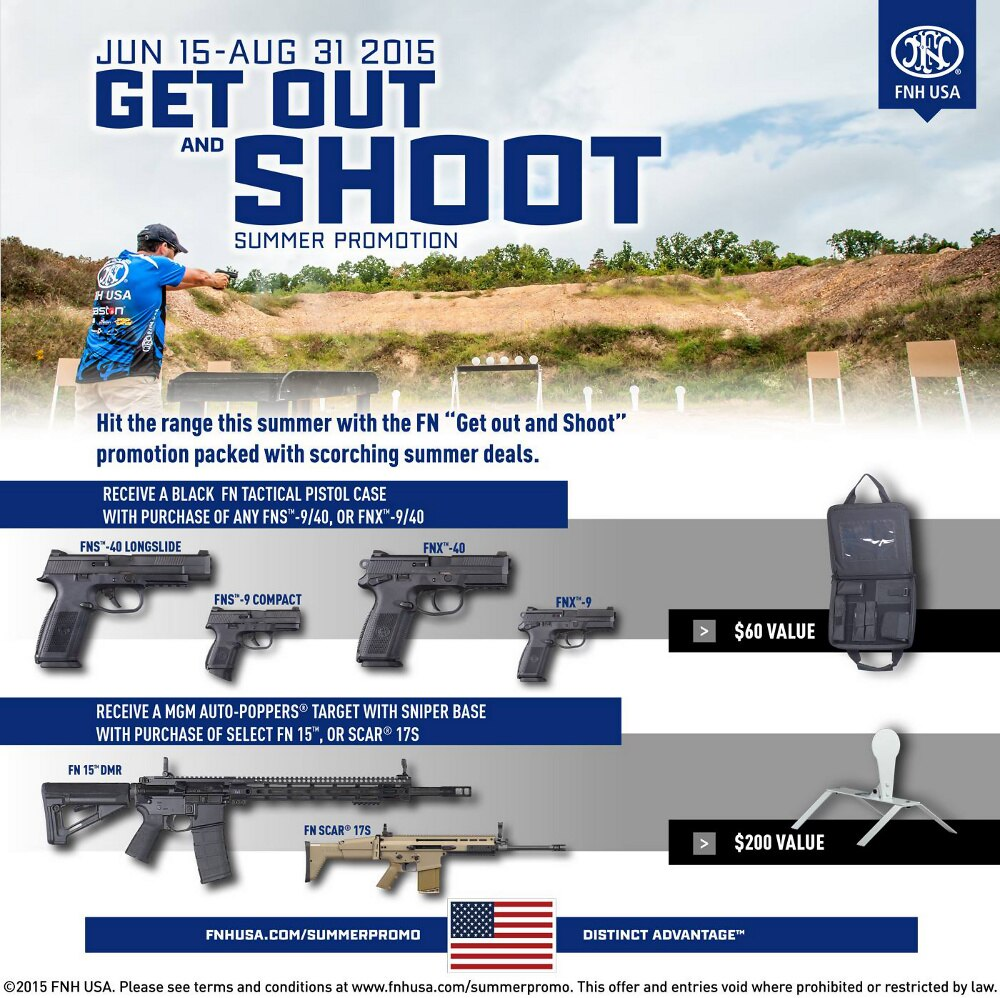get out and shoot fn promo