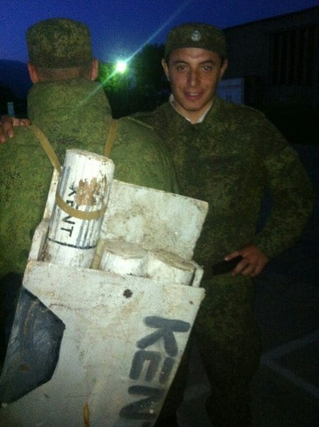 Russian soldiers apparently really like Kent brand ciggys