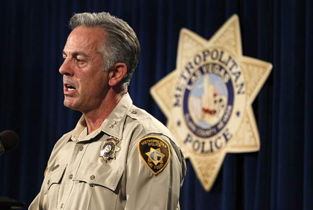 Las Vegas Sheriff Joseph Lombardo this week announced the end to one of the longest running gun registration schemes in the country (Photo: Las Vegas Review Journal)