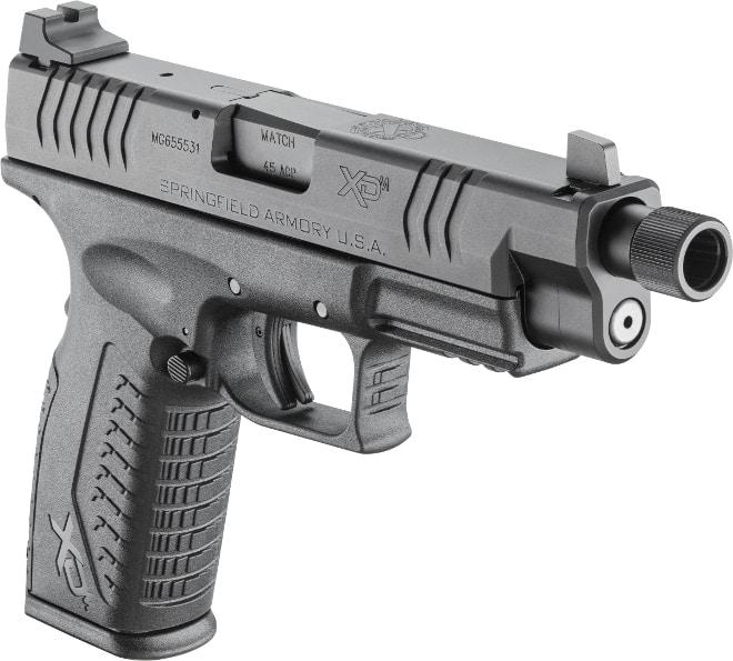 lipseys springfield xd-m suppressor ready .45 acp black