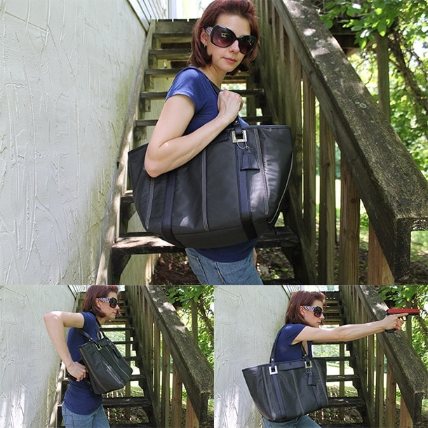 5.11 Lucy tote concealed carry ba