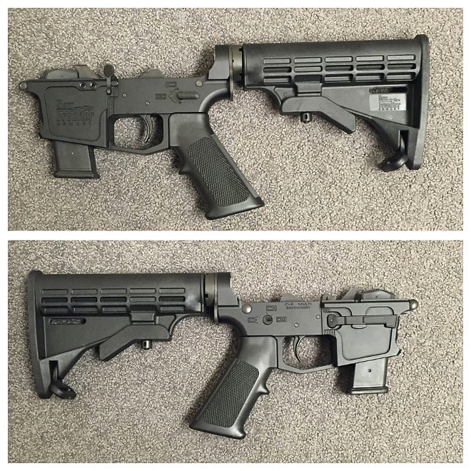 new frontier armory 9mm glock ar lower