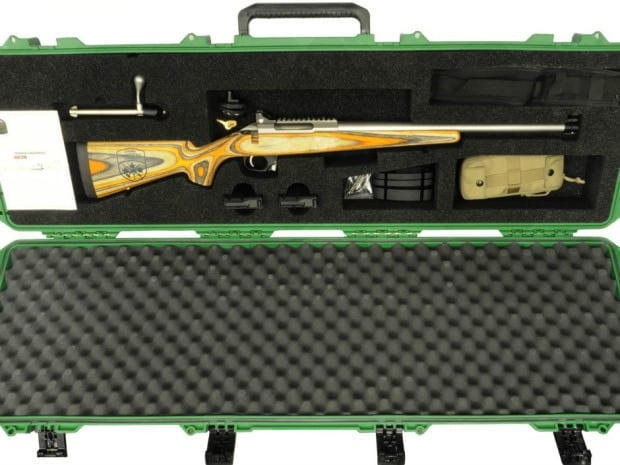 The new rifle is the Sako T3 CTR modified for Canadian service.