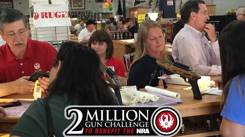 ruger 2015 2 million gun challenge nra ila max slowik