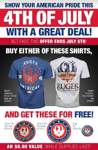ruger american pride shirts