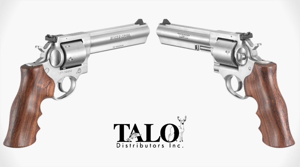 ruger gp100 unfluted talo max slowik