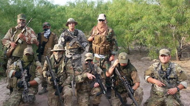 Rustys Rangers at Camp Lonestar near the Rio Grande river in Texas.