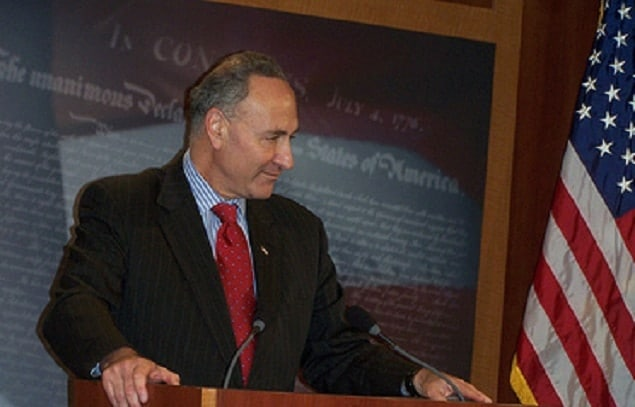 Sen. Chuck Schumer is saddling up for a gun control ride through the Senate. (Photo: schumer.senate.gov)