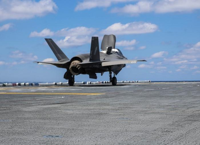 And that's why the funny looking engine...(Photo: Lockheed Martin)