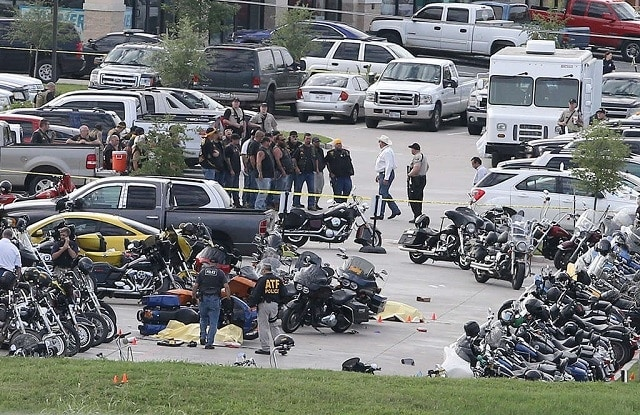 Police maintain that just 3 Waco Police officers fired 12 rounds in the May 17 Twin Peaks shootout. (Photo: Jerry Larson/AP)