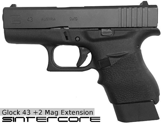 3dplus2 sintercore glock 43 mag extension