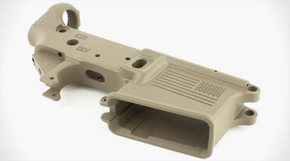 Freedom rifle lower aero precision