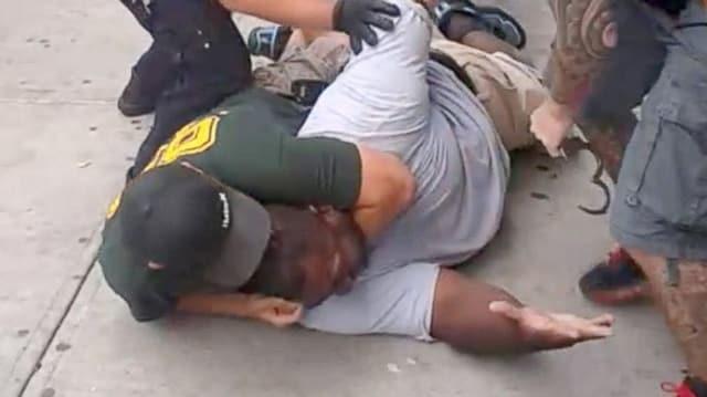 Eric Garner chokehold