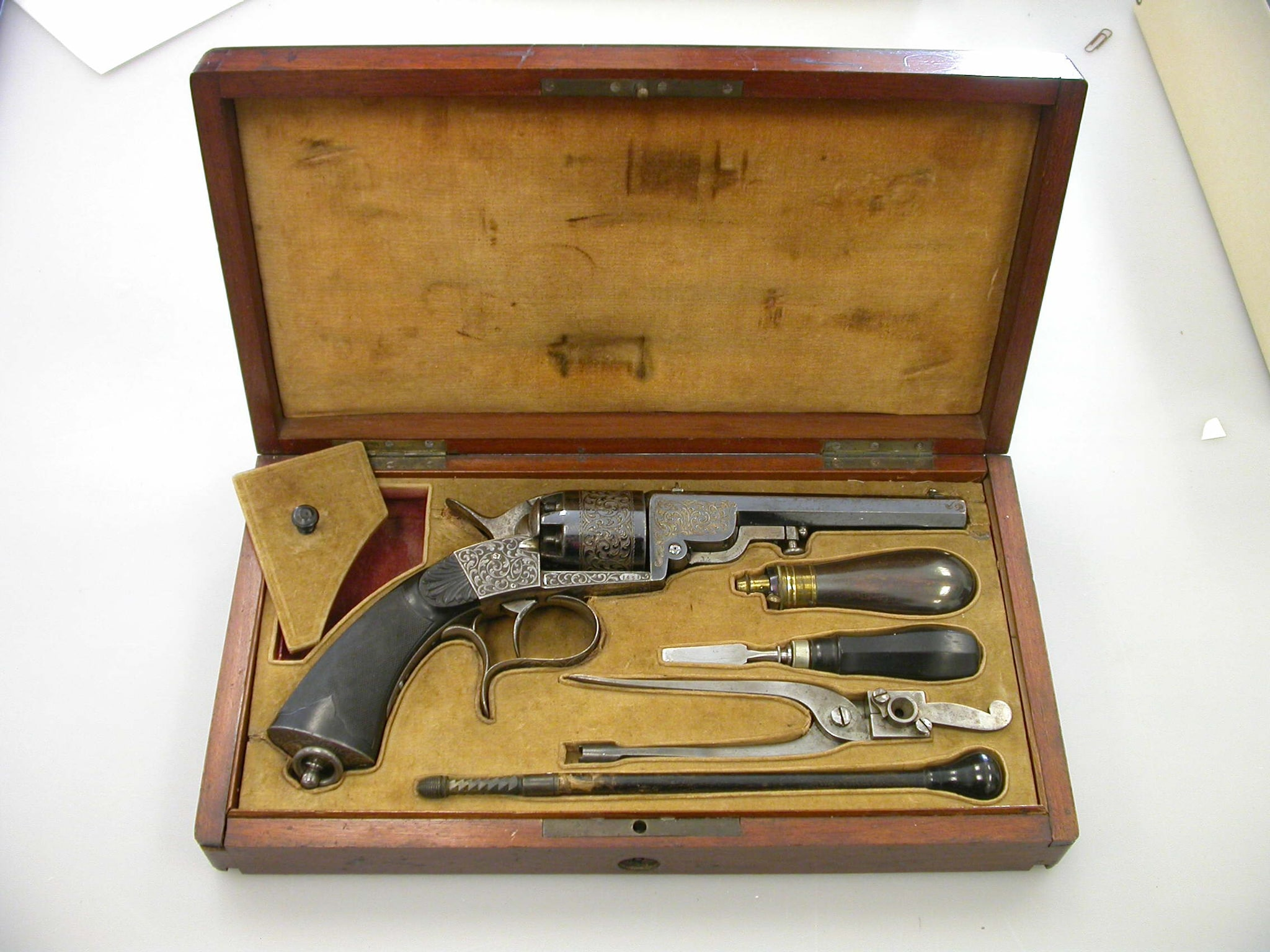 Houllier-Blanchard Navy revolver semmes