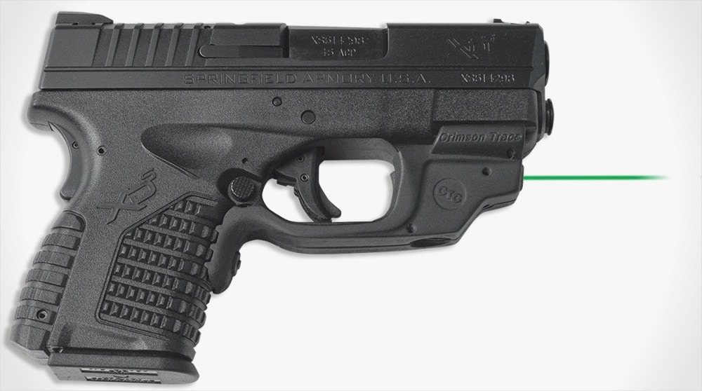 Crimson Trace prepping green XD-S Laserguard for launch