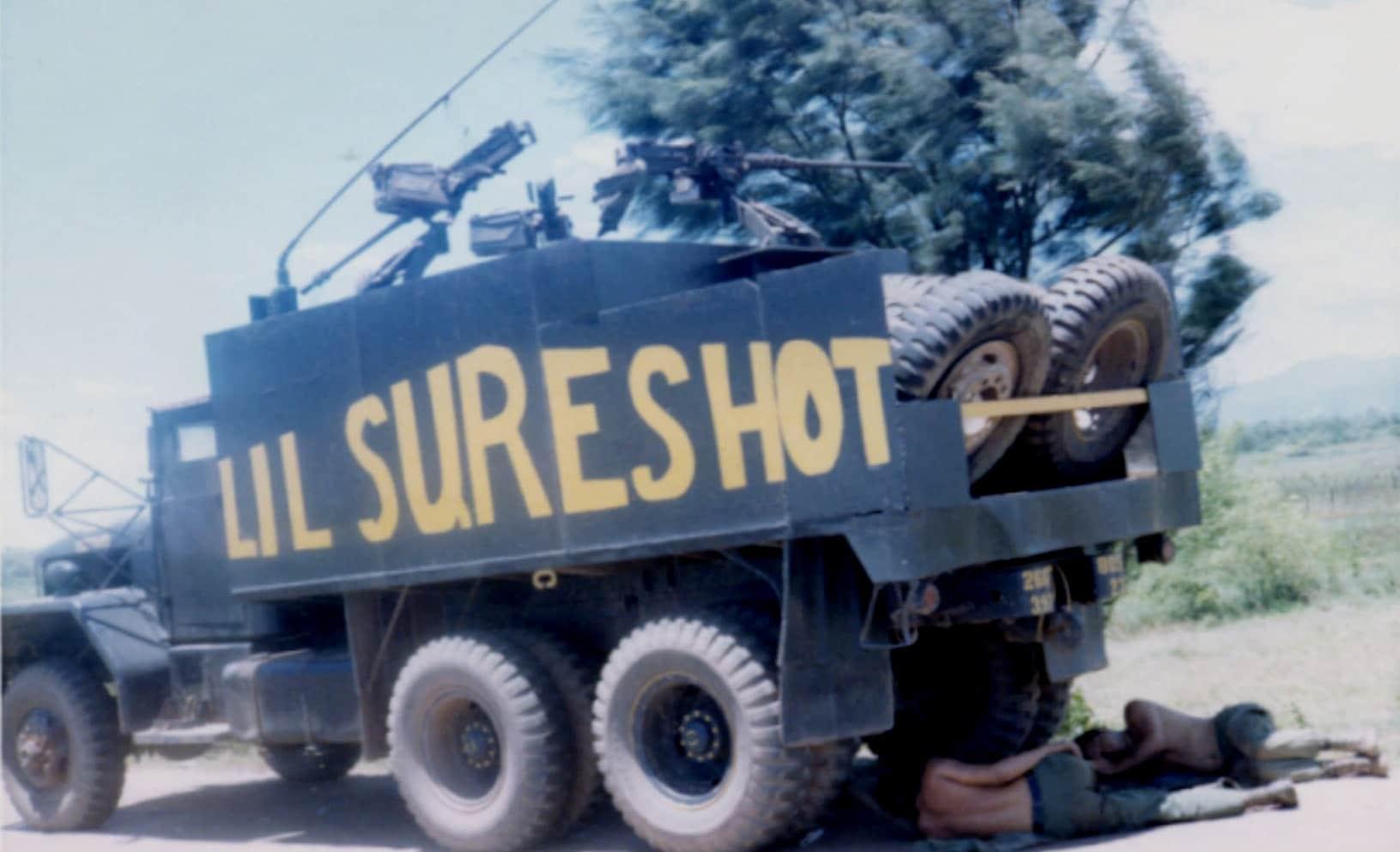 gun truck vietnam
