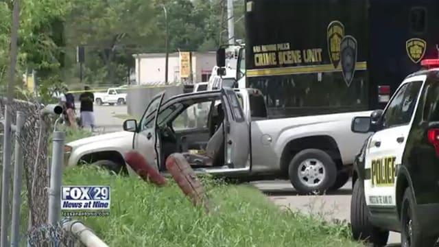 San Antonio auto shop robbery