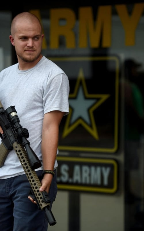 Huntsville, Alabama, Army recruitment center