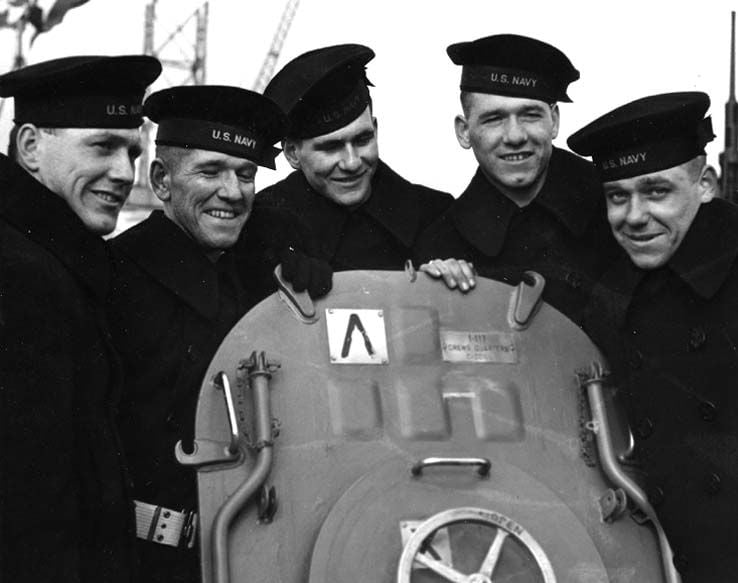 The ship was named in honor of the sacrifice of the five Sullivan brothers who perished in the Pacific during World War II