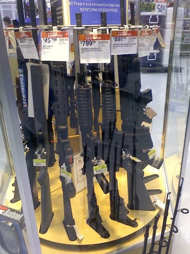Wal-Mart guns