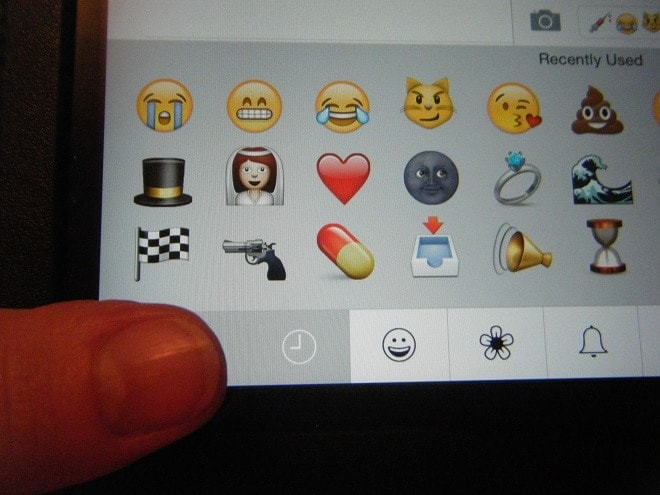 Apple devices, along with those of most major smart phone makers, contain a gun emoji that a controversial New York group wants removed. (Photo: Chris Eger/Guns.com)