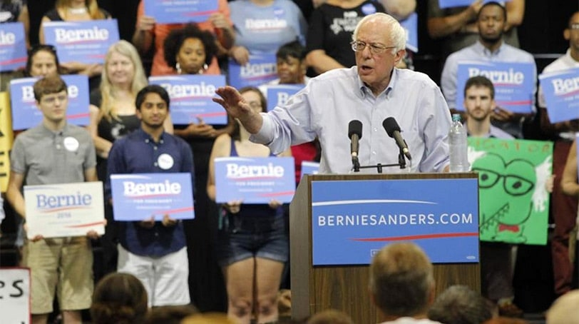Sen. Bernie Sanders speaks during a rally at the Pontchartrain Center in Kenner, Louisiana, Sunday, July 26, 2015. (Photo: Bernie Sanders for President)