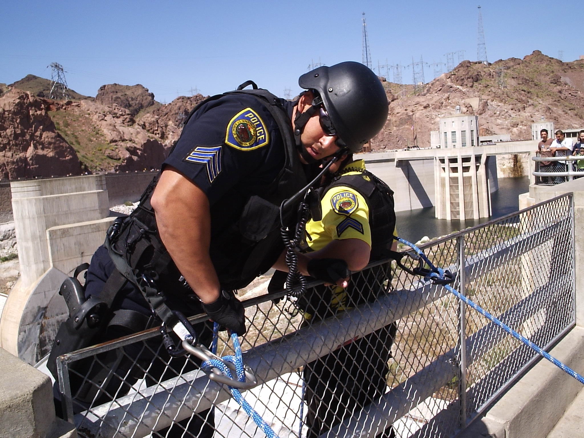 hoover dam police