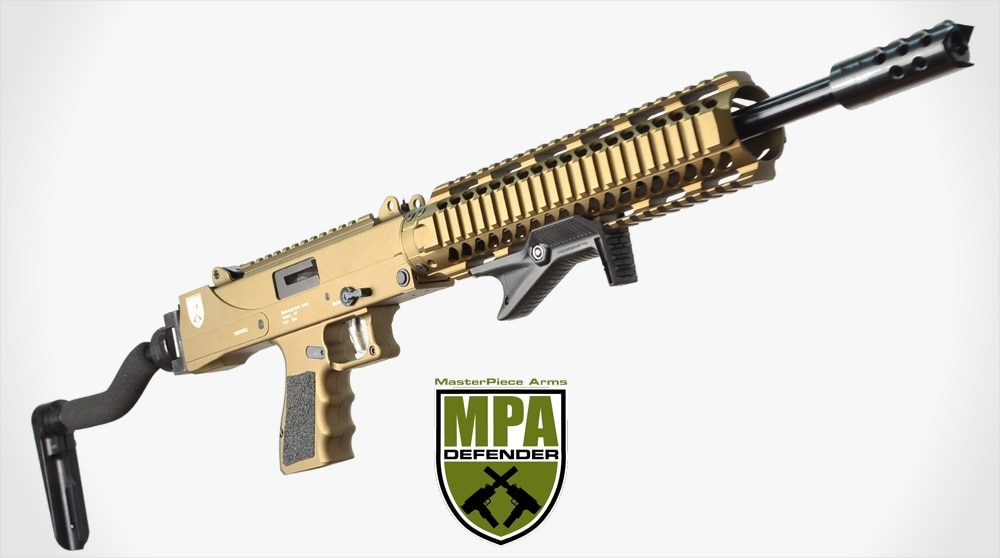 Check out the new 9mm Defender Carbine–it uses Glock mags