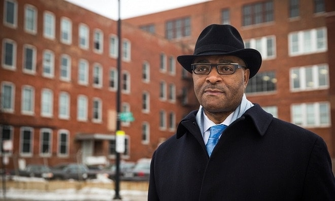 Cook County Commissioner Richard R. Boykin