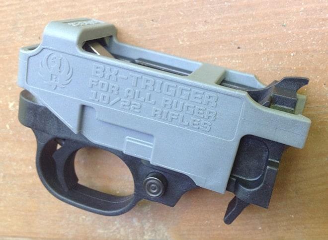 ruger bx trigger close up