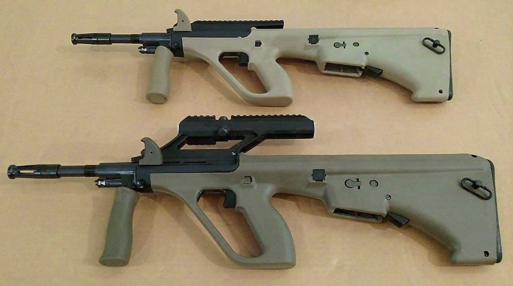 Steyr AUG/A3 NATO colors now shipping