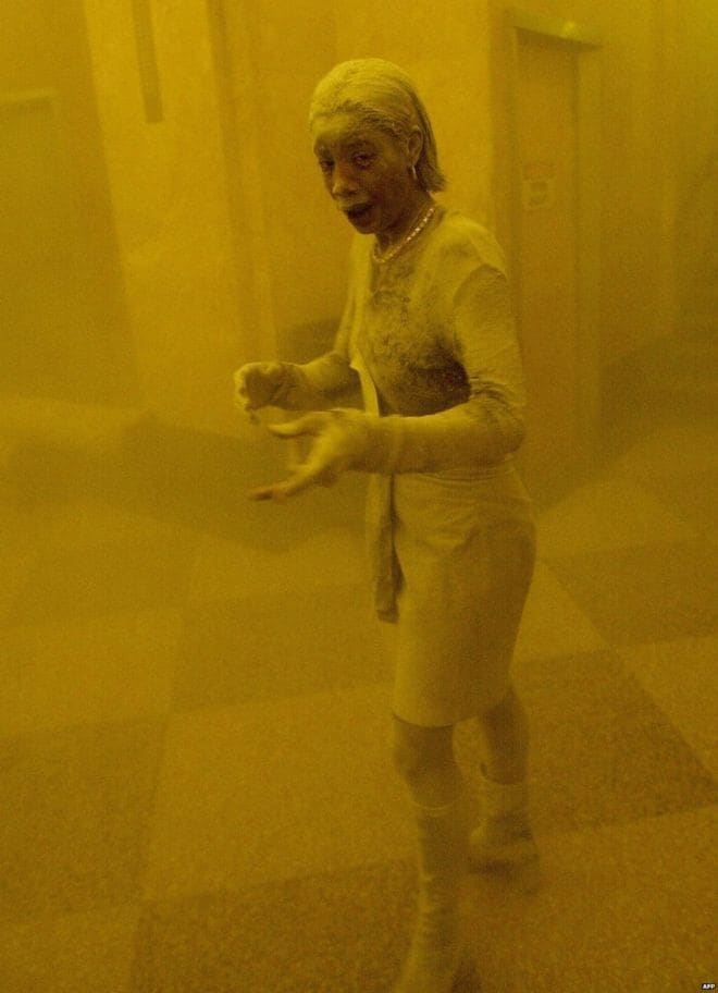 Dust Lady Marcy Borders