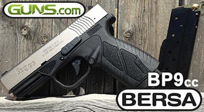 Handgun Review: Bersa BP9 Concealed Carry :: Guns com