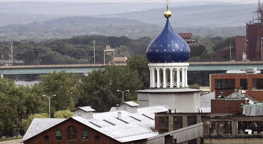 Colt's famous onion dome has also been a subject of controversy. State lawmakers, who supported gun control measures that would have banned certain Colt products, supported financial aid to preserve the old Colt factory.