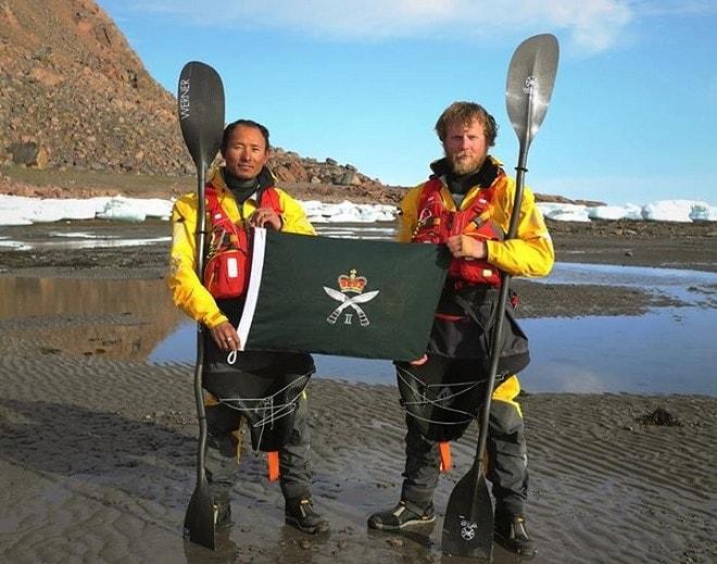 Gurkhas complete epic 1,500 mile trek through the Arctic