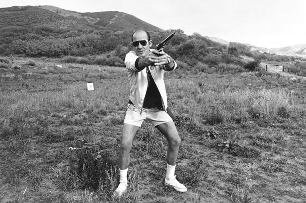 The late, great writer and gun enthusiast Hunter S. Thompson was the inspiration for Gonzo Girl.
