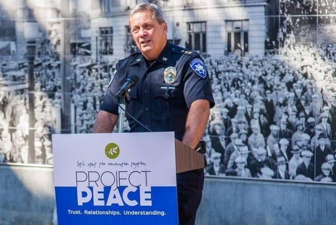 Tacoma Police Chief Don Ramsdell