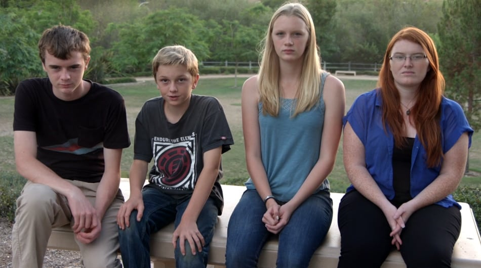 Charlie Vacca's children: Tyler, 15, Christopher, 12, Ellie, 16, and Ashley, 20.