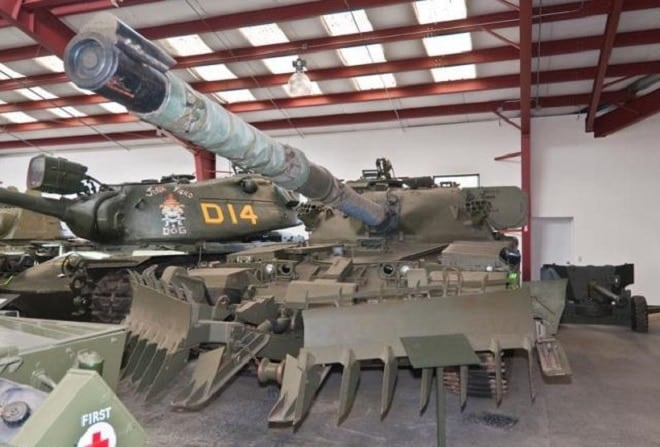 Want to buy a tank? Cause there's a tank for sale (VIDEOS)