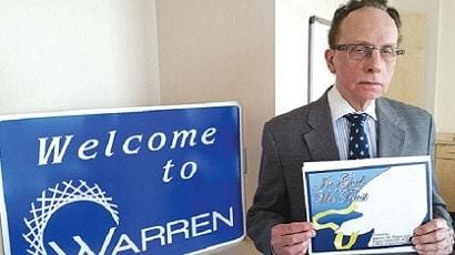 Warren Mayor Jim Fouts cover